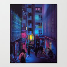 Shibuya Nights / Bouncing Lights Canvas Print