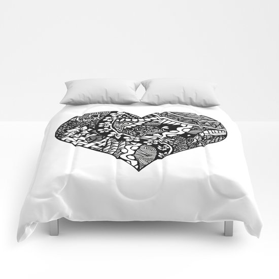 Abstract Heart Comforters