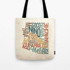 Arizona by County Tote Bag
