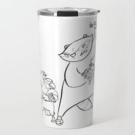 Ninja Training - Darts Travel Mug