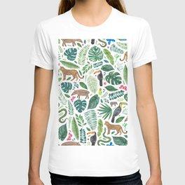 Jungle/Tropical Pattern T-shirt