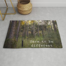 Dare to be Different Rug