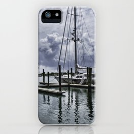 The Harbour iPhone Case
