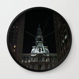 Philadelphia, City Hall Wall Clock