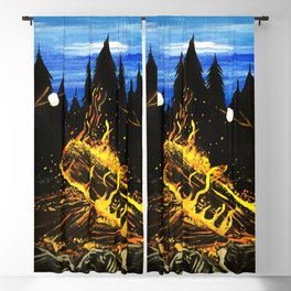 Camp Fire Blackout Curtain