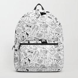 It's Always Sunny Illustration Pattern Backpack