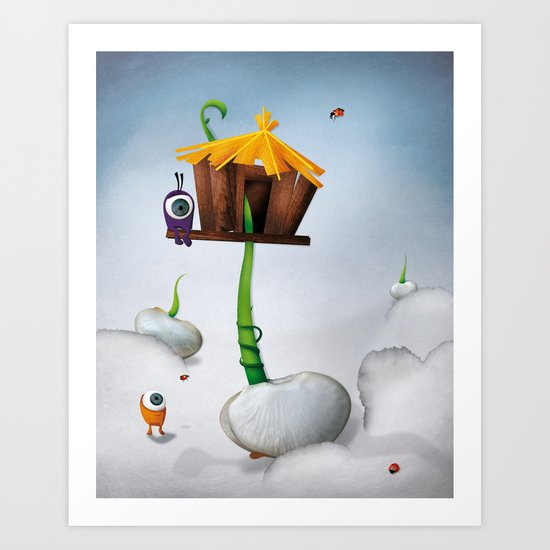 The Eyez - Seed Art Print