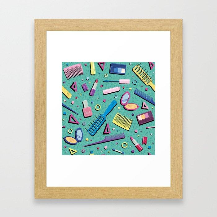 material girl Framed Art Print