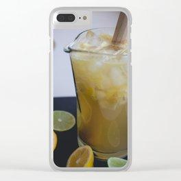 Lemon Juice Clear iPhone Case