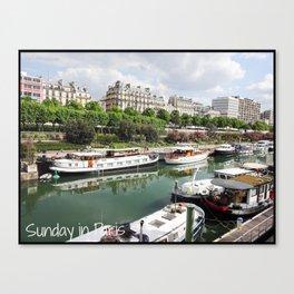 Photo: Sunday in Paris (5 May 13) Canvas Print