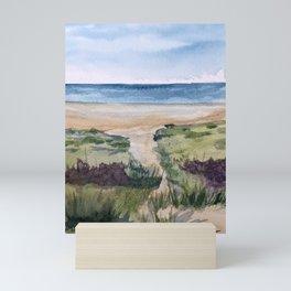 Path to the Beach Mini Art Print