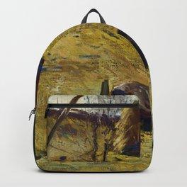 "George Wesley Bellows ""Haystacks and Barn"" Backpack"