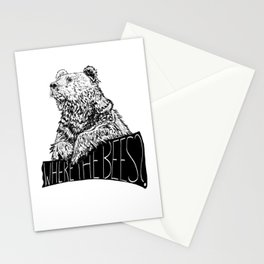 Where the Bees? Stationery Cards
