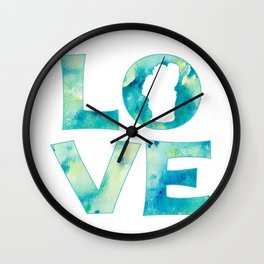 Waterlove Wall Clock