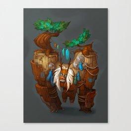 Tree Golem Canvas Print
