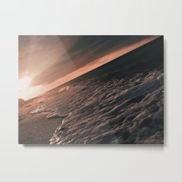 foamy waves Metal Print