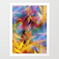 prism Art Prints featuring Prism by renajoy