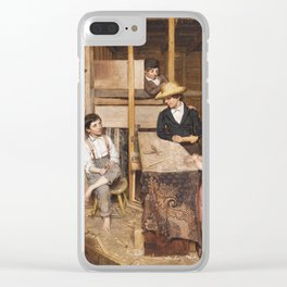 Allen Smith Jr. - The Young Mechanic Clear iPhone Case