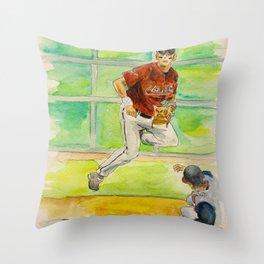 Craig Biggio_Houston HOF Throw Pillow