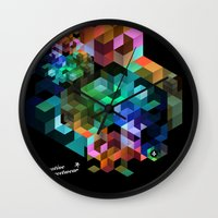 tetris Wall Clocks featuring TETRIS by Creative Streetwear