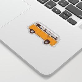 Van - Yellow Sticker