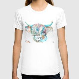 Highland Cattle full of colour T-shirt