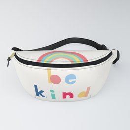 Be Kind Rainbow Fanny Pack