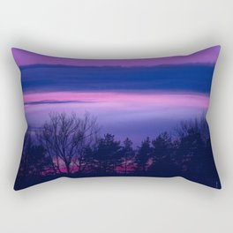 violet forest Rectangular Pillow