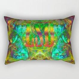 Psychedelic LSD Rectangular Pillow