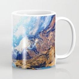 Artwork - Surreal Mountain Coffee Mug