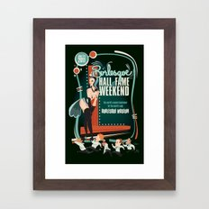Burlesque Hall of Fame Weekend 2011 by Ragnar Framed Art Print