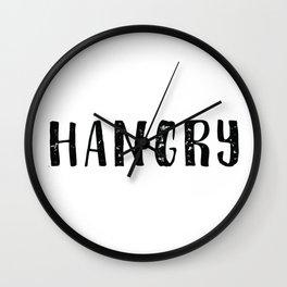 Hangry Wall Clock