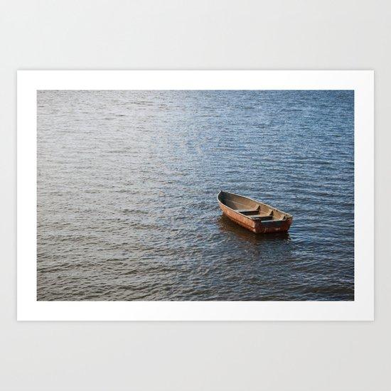 Come to sail with me... Art Print