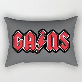 Hard Rock Gains Rectangular Pillow