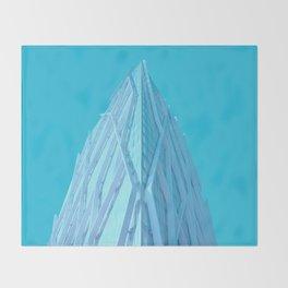 torre diagonal Throw Blanket