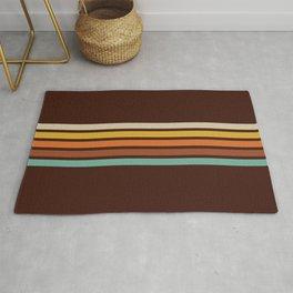 Motokiyo - Classic Retro Stripes Rug