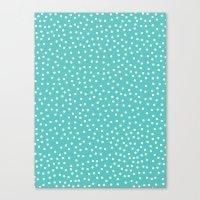 dots Canvas Prints featuring Dots. by Priscila Peress