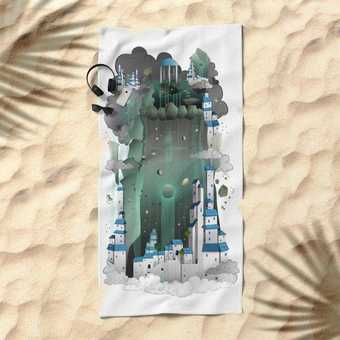 Paradise City Beach Towel