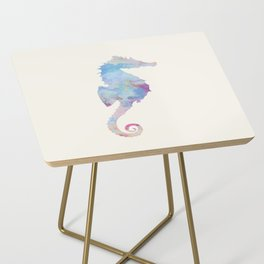 AFE Watercolor Seahorse Side Table
