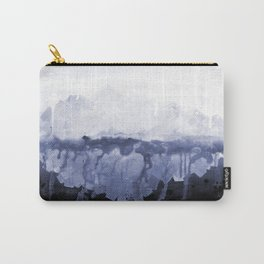 Paint 5 abstract water ocean arctic iceberg nature ocean sea abstract art drip waterfall minimal  Carry-All Pouch