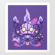 Miss Magic Art Print