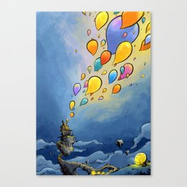 Flying Idees Canvas Print