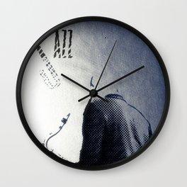 Saxophonist, Jazz Poster Wall Clock