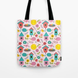 Home Decor Spring Easter Tote Bag
