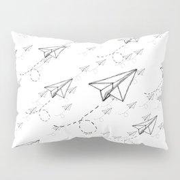 Paper Airplane 9 Pillow Sham