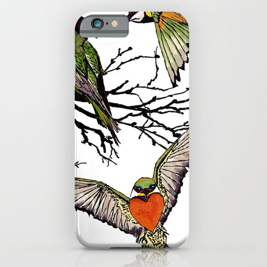 bee-eaters iPhone & iPod Case