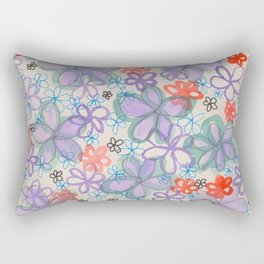 Flower Burst 2 Rectangular Pillow