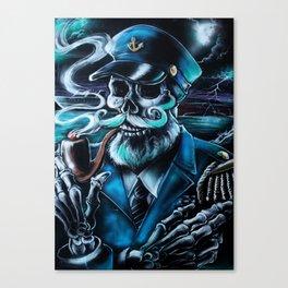 The Admiral Canvas Print