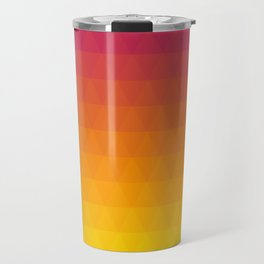 Pink and Yellow Ombre - Flipped Travel Mug