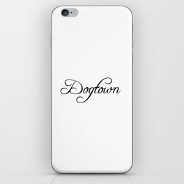 Dogtown iPhone Skin